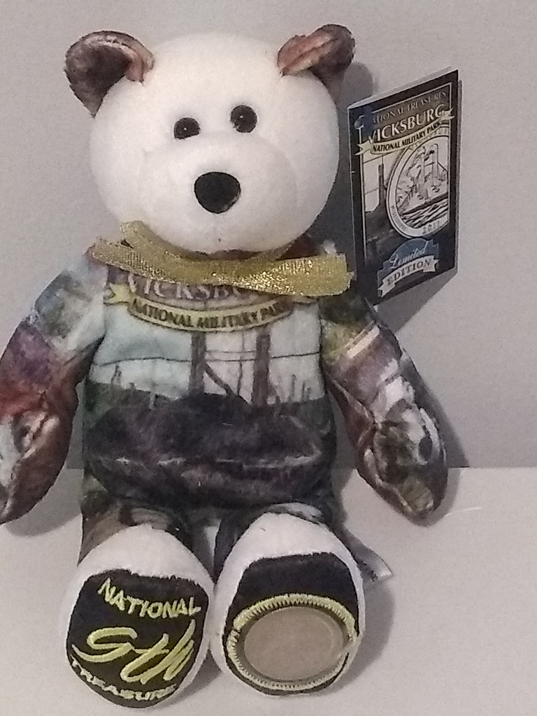 #9 Vicksburg National Park Coin bear part of the America the Beautiful Series