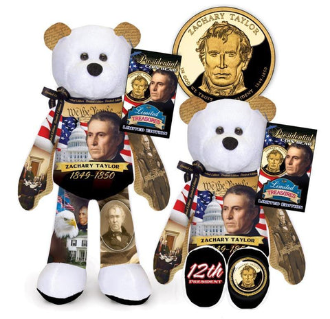 Zachary Taylor Dollar Coin bear