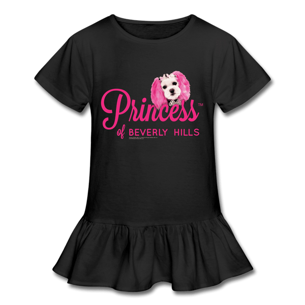 Formal Princess - Girl's Ruffle T-Shirt