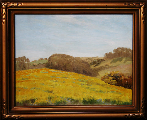 """California Wildflowers"" By Artist: Jean Jacques Pfister"