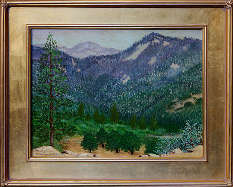 """Sierra #2"" By Artist: Ernest Browning Smith"