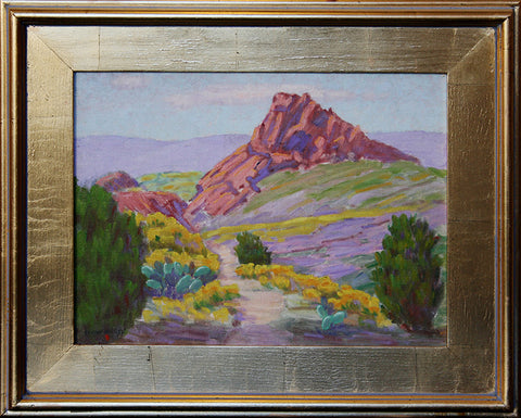 """Red Rock"" By Artist: Lloyd McGee"