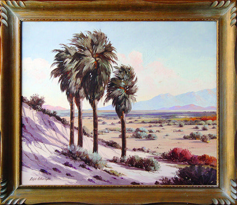"""Palm Springs"" By Artist: Ralph Arthur Lytle"