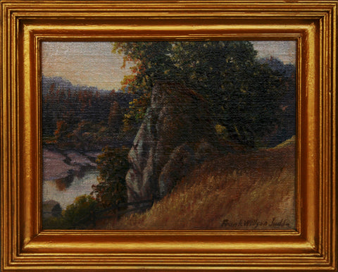 """River Overlook"" By Artist: Frank Willson Judd"
