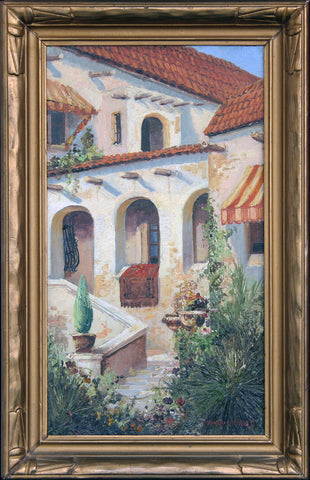 """Spanish Gardens"" By Artist: Edward Langley"