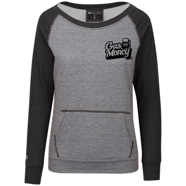 GasMoney Ladies Terry Fleece Crew