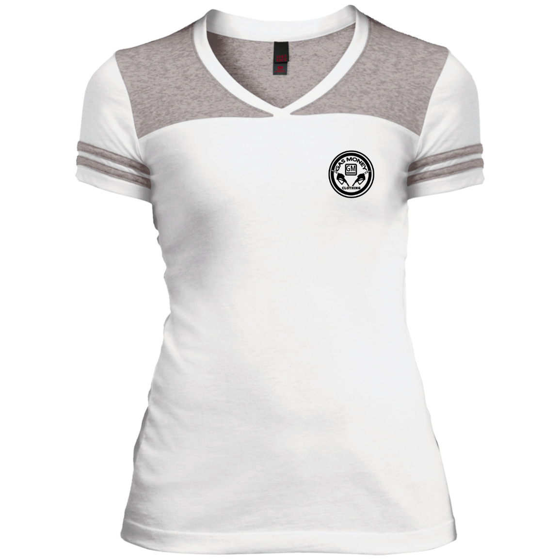 GM Junior's Varsity V-Neck T-Shirt