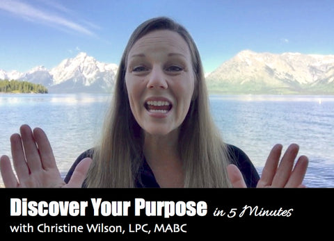 Discover Your Purpose in 5 Minutes Course