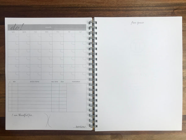Think Time Purpose Planner - 90 Day Undated