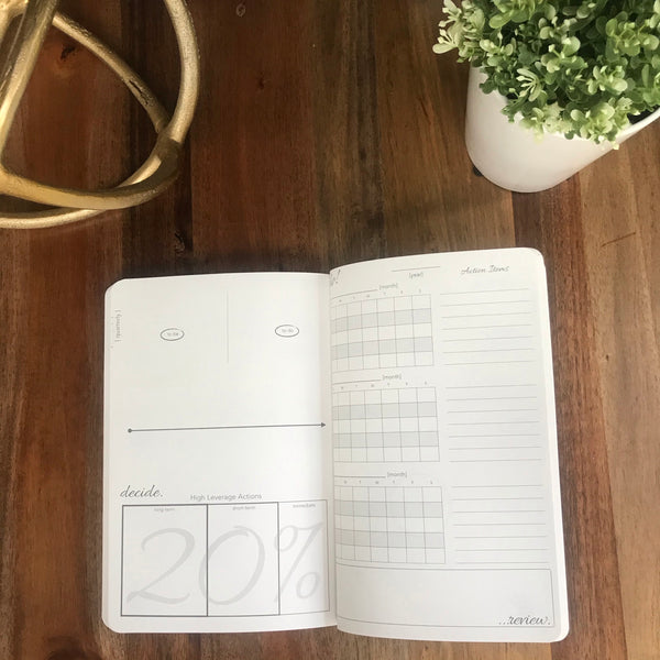Think Time Planner Undated Yearly - Slim