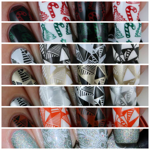Stamping Polish Collection - 7 bottles