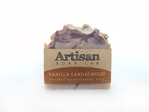 Vanilla Sandalwood soap