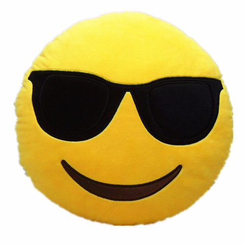 Emoji Pillow - Cool Plush Toy Cushion