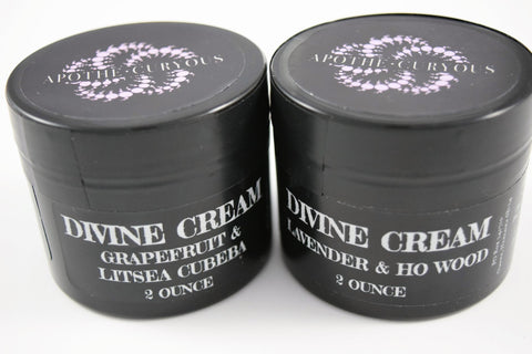 Divine Cream Lavender & Ho Wood or Grapefruit & Litsea, Apothecuryous