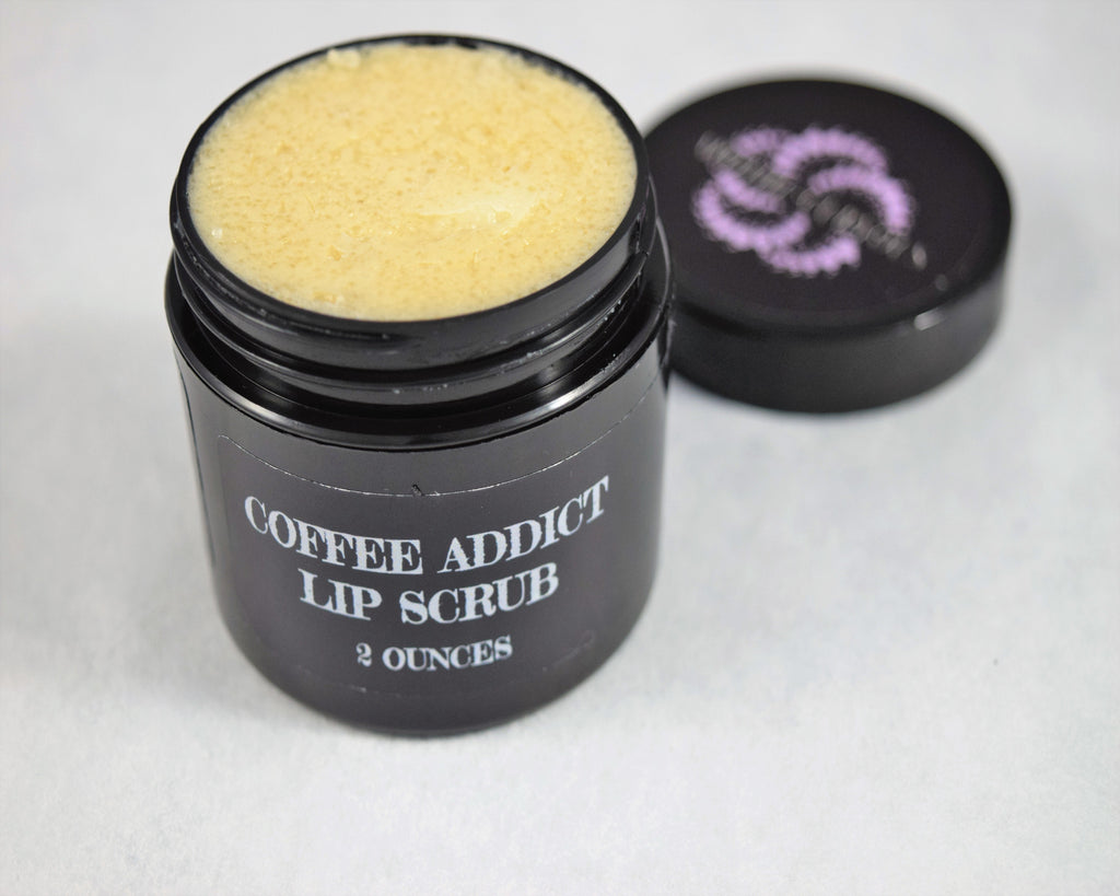Coffee Addict Lip Scrub, Apothecuryous
