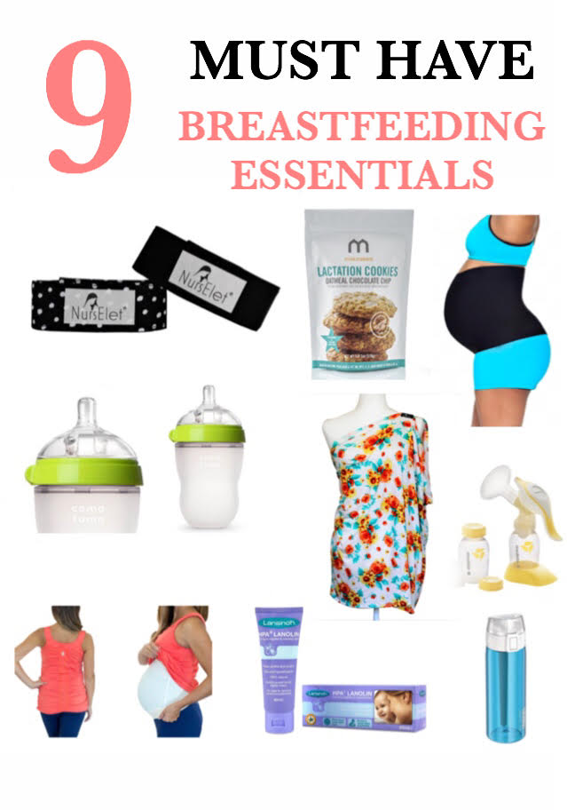 9 MUST HAVE BREASTFEEDING ESSENTIALS