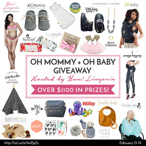 Oh Mommy + Oh Baby Giveaway