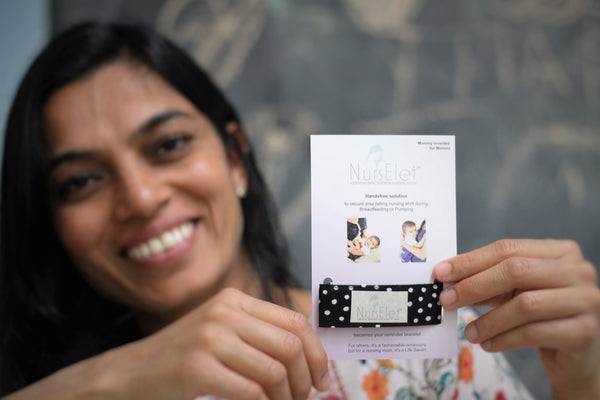 nurselet founder-rupal asodaria-breastfeeding product-fedex small business grant contest-#fedexgrant-small business owner-woman business owner