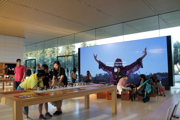 nurselet-apple-park-apple-store-visit