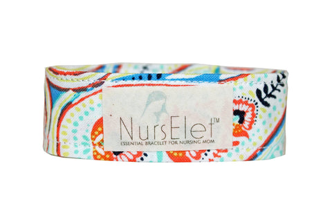 Neon in Multi - NursElet - NursElet™ Nursing Bracelet - 1
