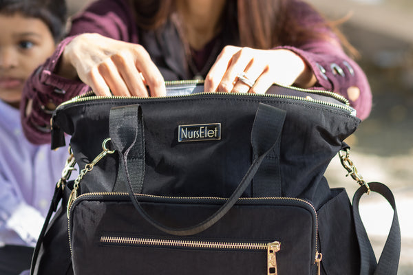 Convertible Backpack - BLACK-- NursElet®
