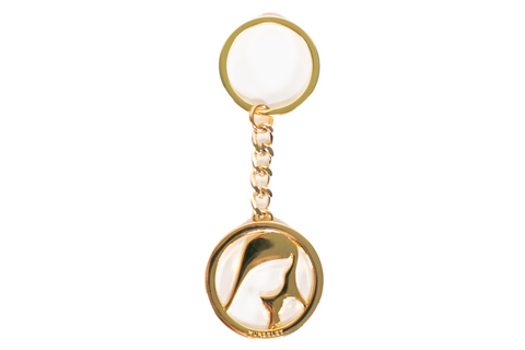 NursElet Gold Signature Keychain-- NursElet®