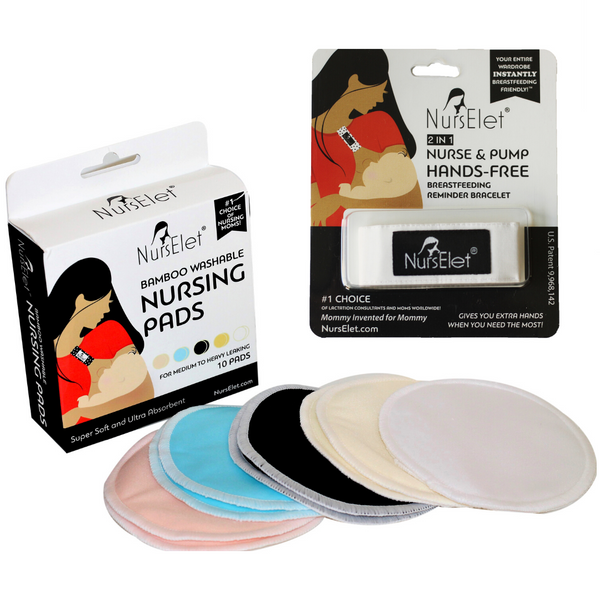 NursElet + Nursing Pads Set-- NursElet®