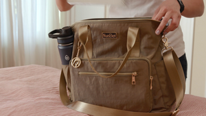 Convertible Backpack - OLIVE-- NursElet®