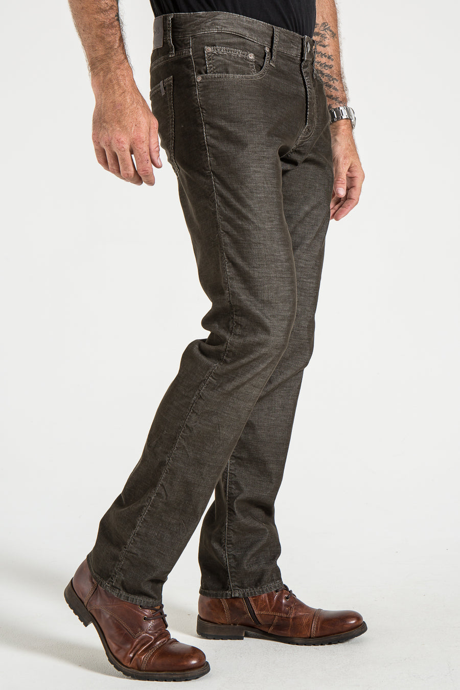 BARFLY SLIM IN BEAR CORDUROY