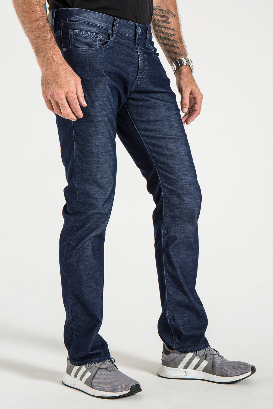BARFLY SLIM IN DENIM CORDUROY
