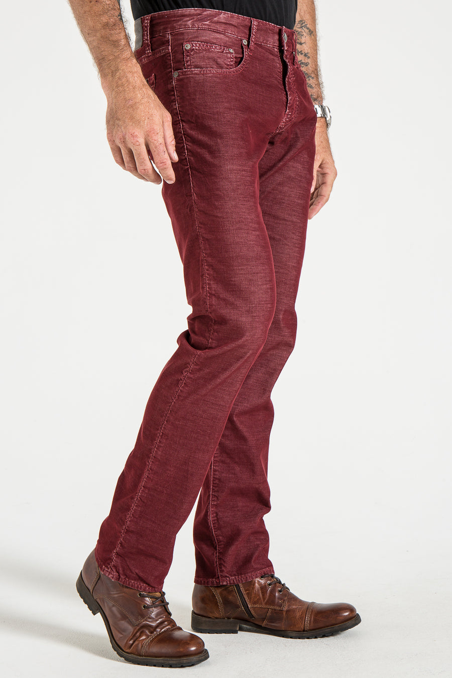 BARFLY SLIM IN WINE CORDUROY
