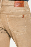 BARFLY SLIM IN ALMOND WASHED RUSTIC CORDUROY JEANS