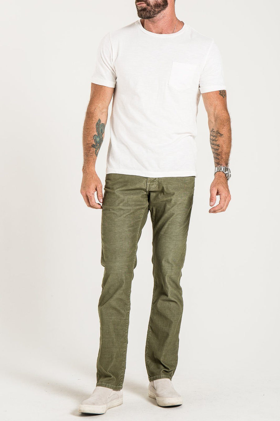 BARFLY SLIM IN CYPRESS CORDUROY JEANS