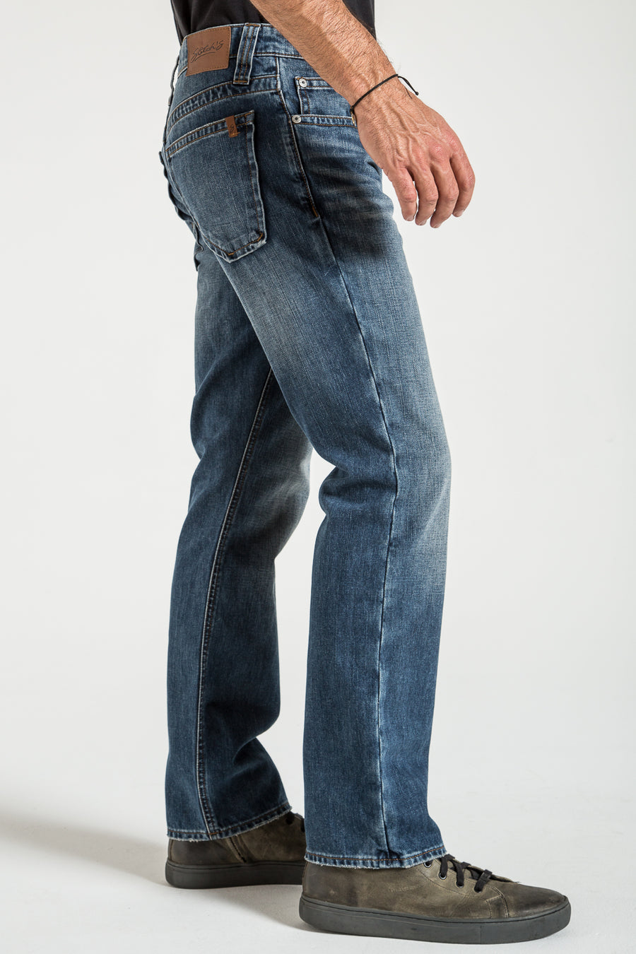 TEXAS STRAIGHT IN MYANMAR DENIM