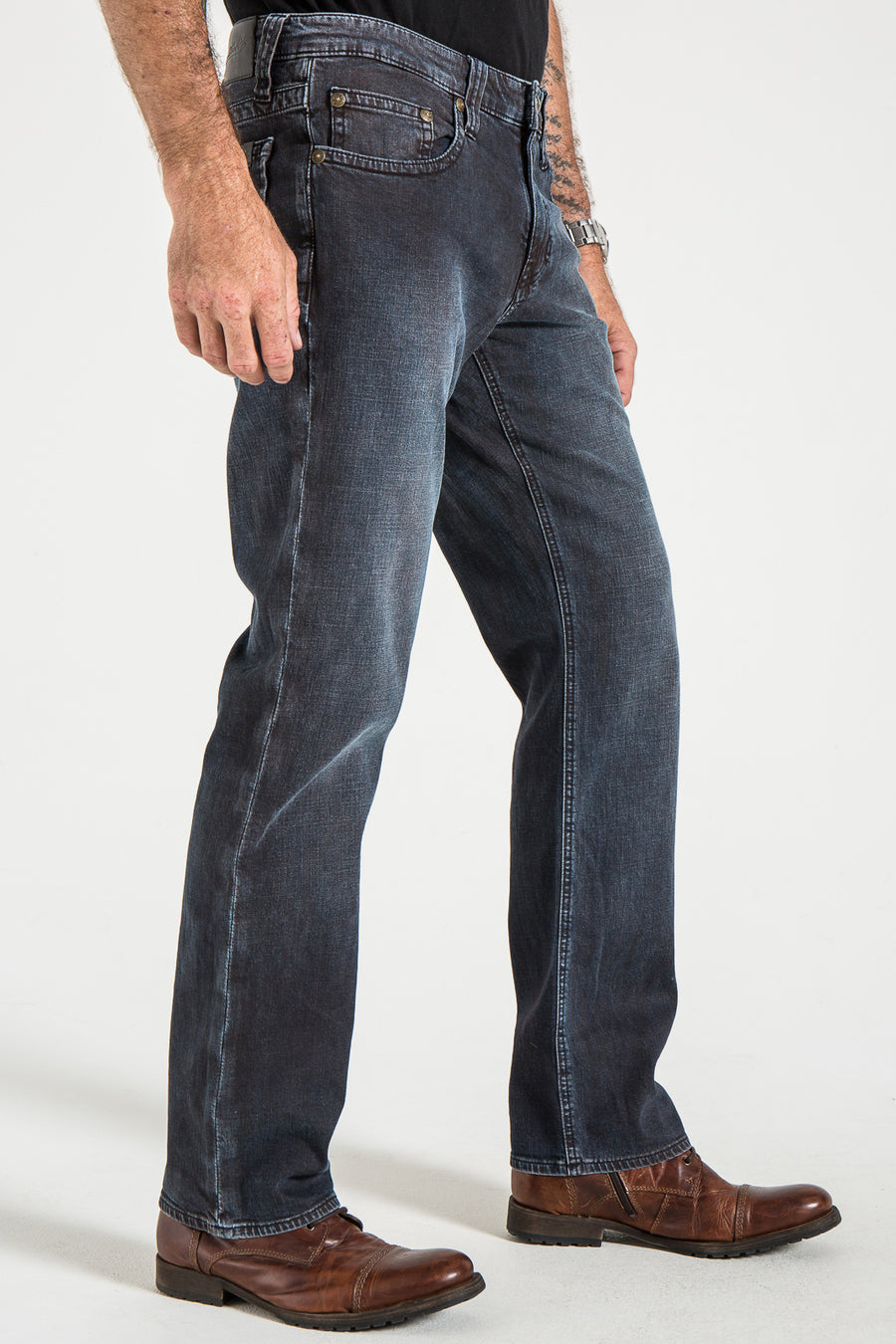 TEXAS STRAIGHT IN ATLANTIS DENIM