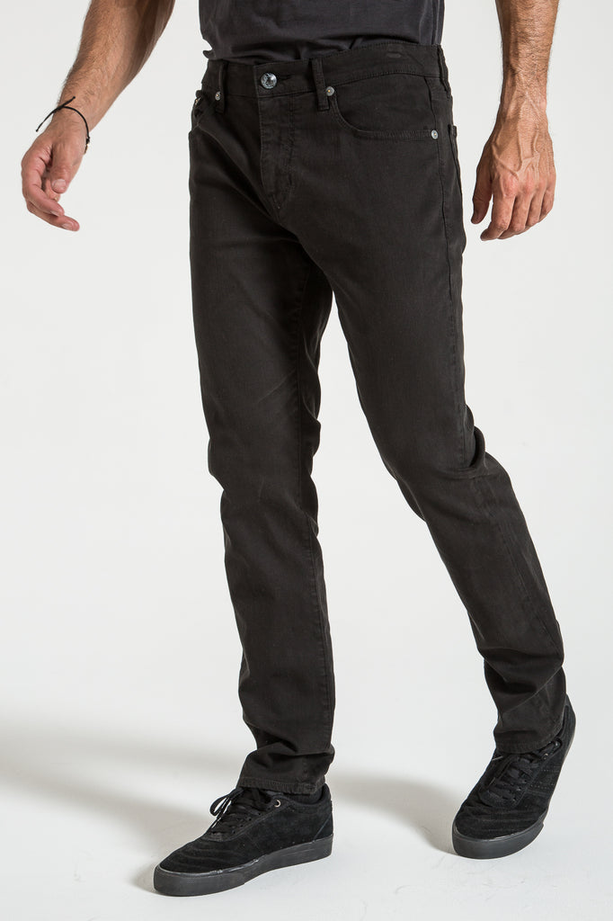 RIGGINS IN BLACK TWILL