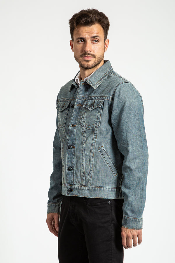 DENIM JACKET IN SWEDEN WASH