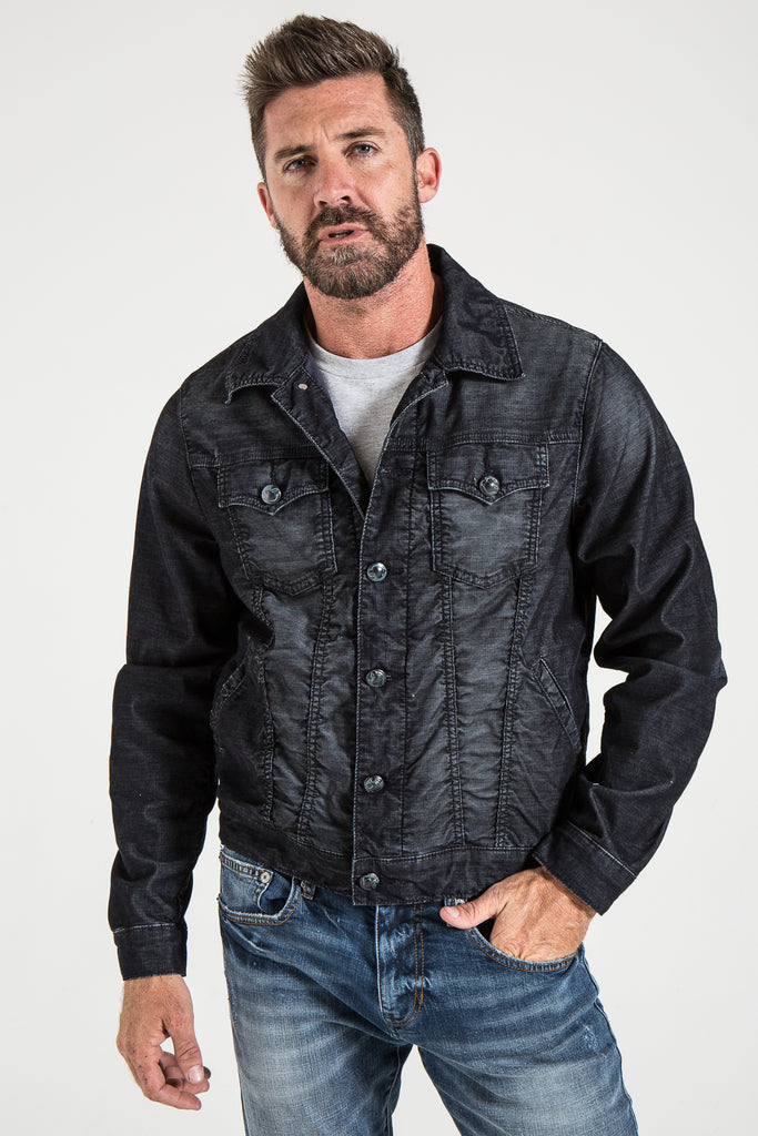 CLASSIC DENIM JACKET IN COLONIAL