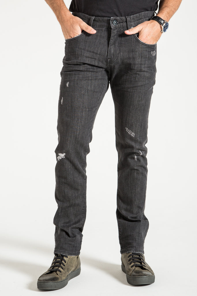 BARFLY SLIM IN HAYDEN BLACK DENIM