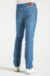 BARFLY SLIM IN ATRIUM BLUE CORDUROY