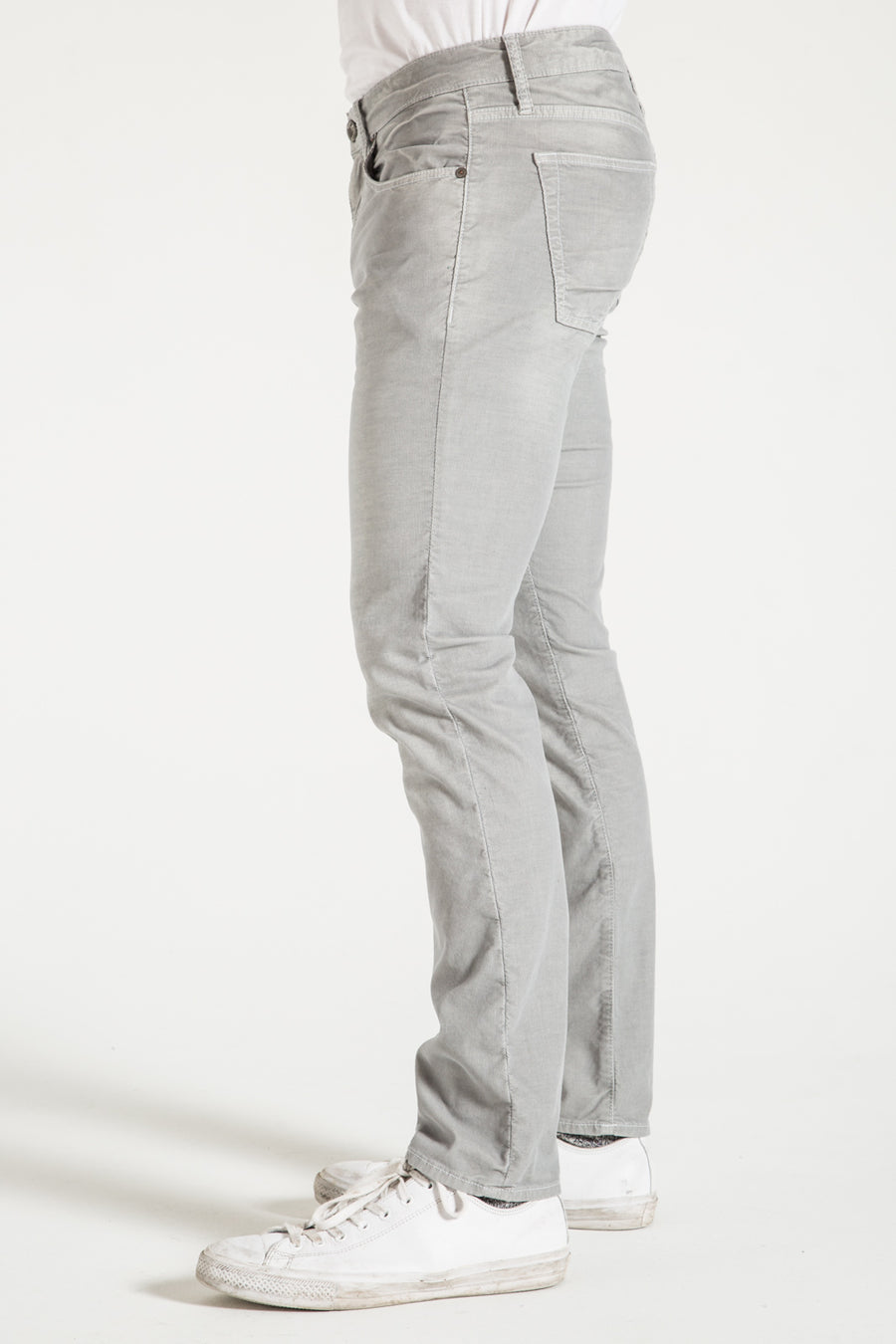 BARFLY SLIM IN HEATHER GRAY CORDUROY