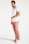 BARFLY SLIM IN RETRO PINK CORDUROY