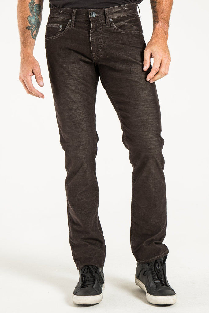 BARFLY SLIM IN DIM BROWN CORDUROY