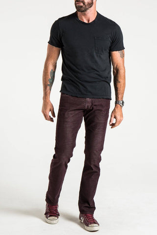 BARFLY SLIM IN WHISKEY WASHED RUSTIC CORDUROY JEANS