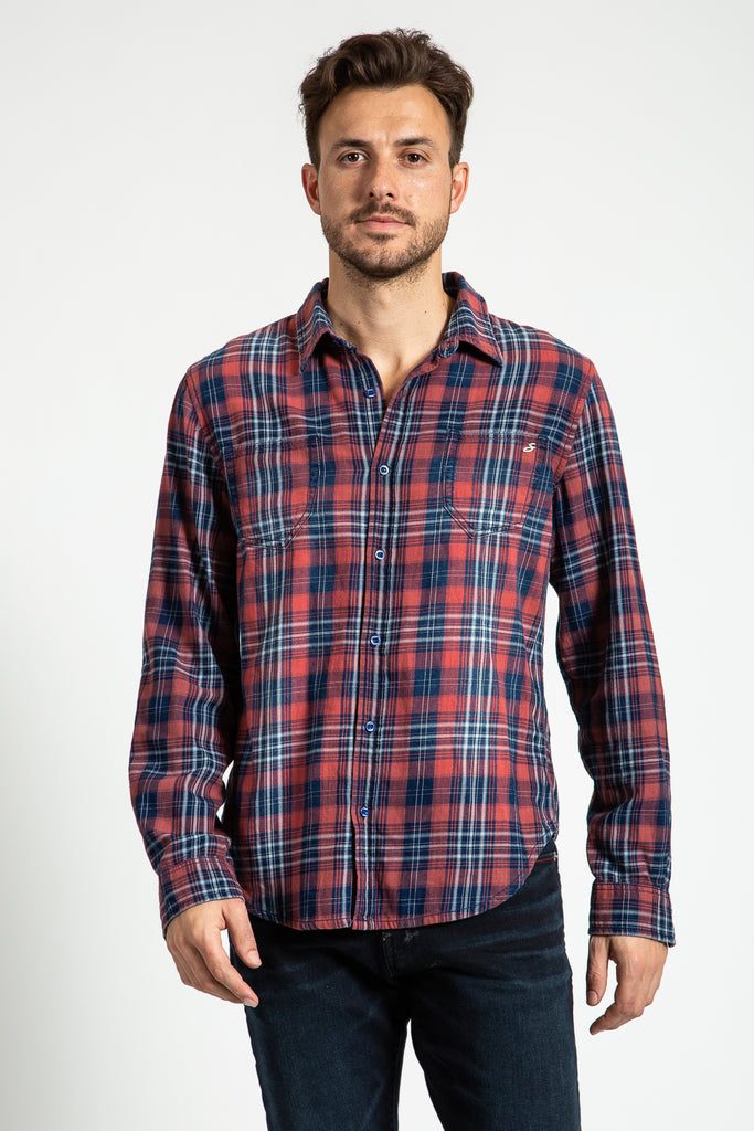 WOVEN PLAID SHIRT IN GLENDALE