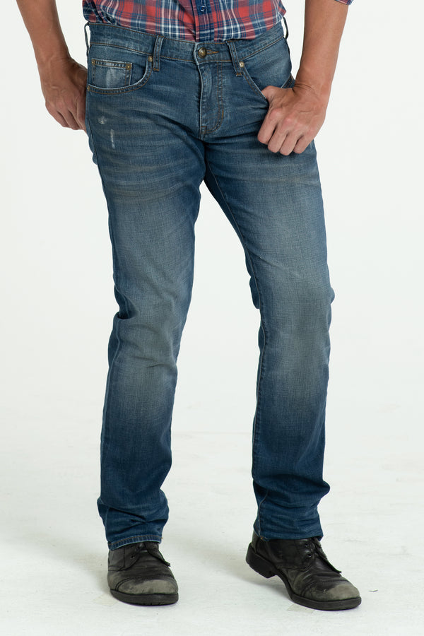 BARFLY SLIM DENIM PANTS IN DESERT DAYS