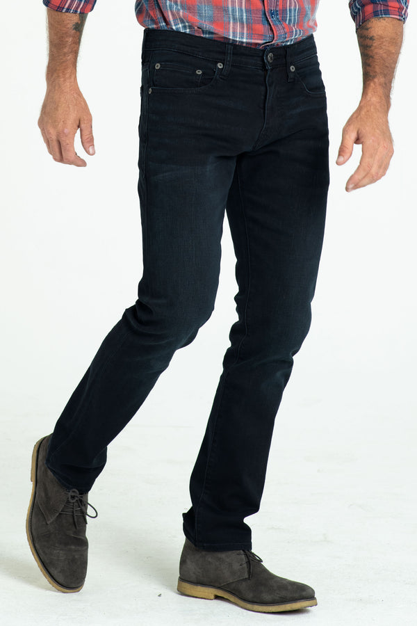 BARFLY SLIM DENIM PANTS IN DARK HAZE