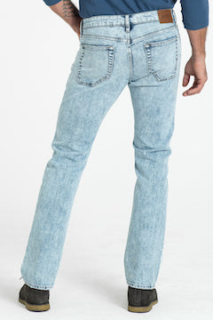 BARFLY SLIM DENIM PANTS IN BEACHED BLUES