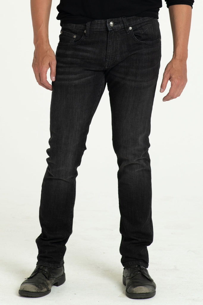 BARFLY SLIM DENIM PANTS IN BLACK DUST