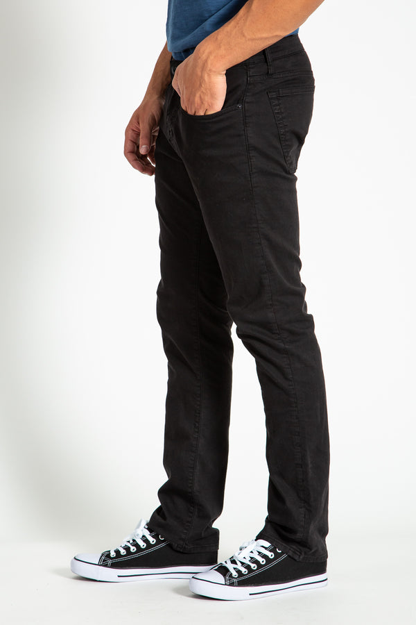 BARFLY SLIM TWILL PANTS IN Jet Black